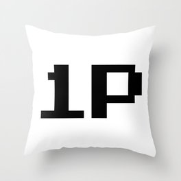 Player One 1P Throw Pillow