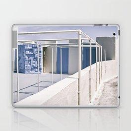 white&blue Laptop & iPad Skin