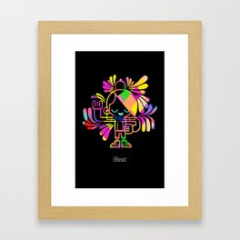 iBeat Framed Art Print