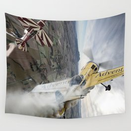 Aerobatic duel Wall Tapestry
