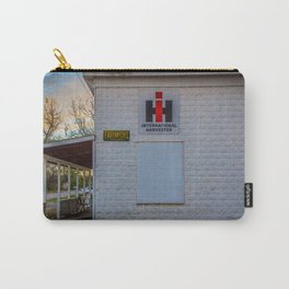 International Harvester Building, Almont, North Dakota Carry-All Pouch