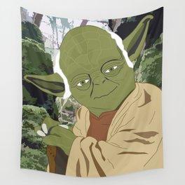Yoda (Vector Art) Wall Tapestry
