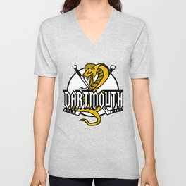 Dartmouth Cobras Ice Logo Unisex V-Neck