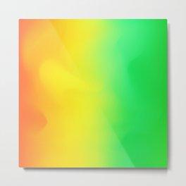 Hologram bright colorful print Metal Print