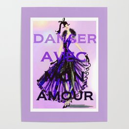 Dancing With My Love Poster