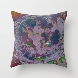 Under Water Creation Throw Pillow