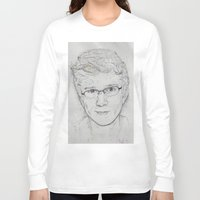 tyler spangler Long Sleeve T-shirts featuring Tyler Oakley by EleanorOrchard