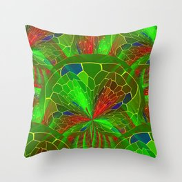 Holiday Colors Throw Pillow