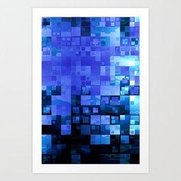 Cubeboard N1 Art Print