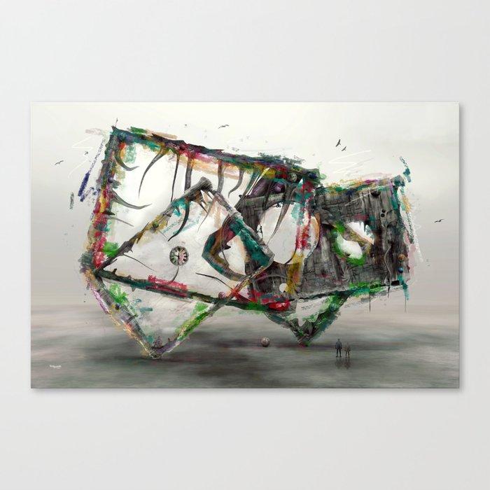 Zeitlose Kunst Canvas Print