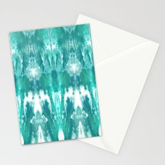 Aqua Blue Lagoon Stationery Cards