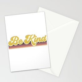 Retro Be Kind Stationery Cards
