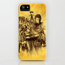 Homage to Mad Max iPhone Case