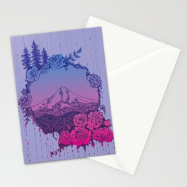 Rose City (Purple) Stationery Cards