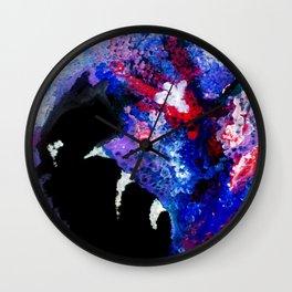 Lilac Shadow Wall Clock