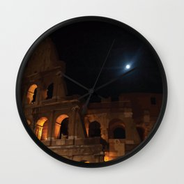 Rome Colosseum Wall Clock