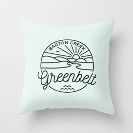 Rain Or Shine! Throw Pillow