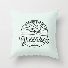 Rain Or Shine! Throw Pillow