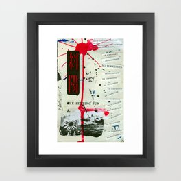 No Surrender Framed Art Print