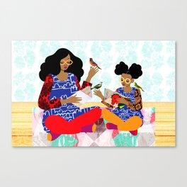 Copycat Canvas Print