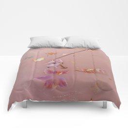 Pink Bath Photoshoot Comforters