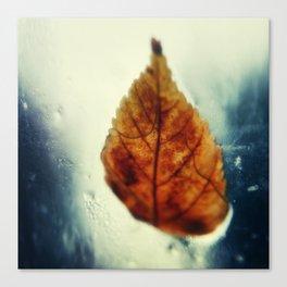 Poetic Winter Canvas Print