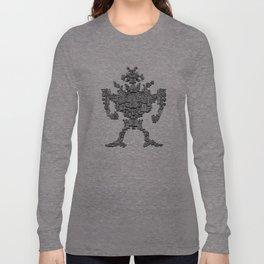 Spiral Robot Long Sleeve T-shirt