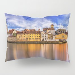Panoramic Regensburg | Germany Pillow Sham
