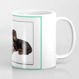 Puppy Poster Coffee Mug