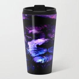 Lion leo purple Travel Mug