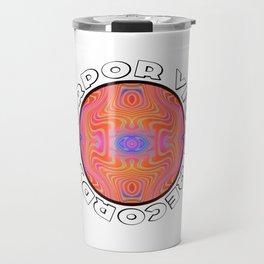 Torpor Vigil Records: Tryptile 42 (Circular with Shadow Type) Travel Mug