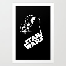 Wars of Star Art Print