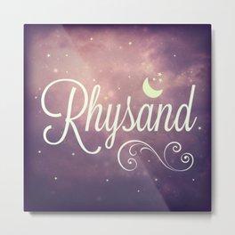 Rhysand Metal Print