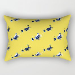 Yellow Jellies Rectangular Pillow