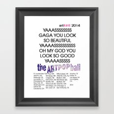 artRAVE 2014 Framed Art Print