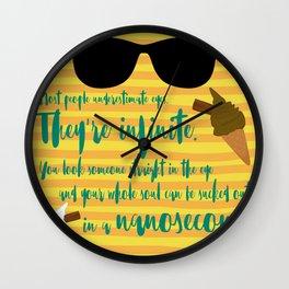 Infinite Eyes Wall Clock