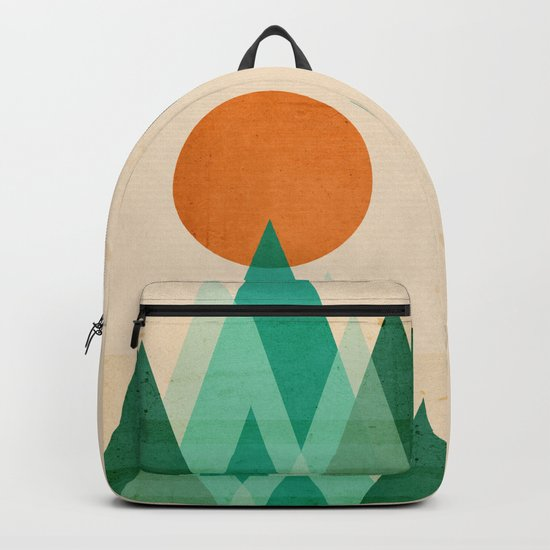 No mountains high enough Backpack