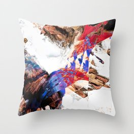 Fresh and Vivit Throw Pillow