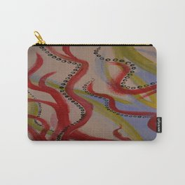 circles and swirls Carry-All Pouch