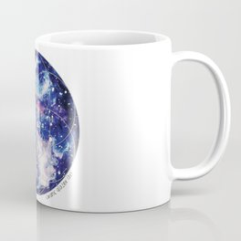 Nebula Planet with Seed of Life Coffee Mug