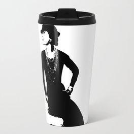 Mademoiselle Coco   Travel Mug