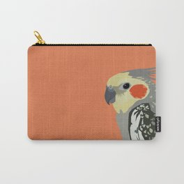 Marcus the cockatiel Carry-All Pouch