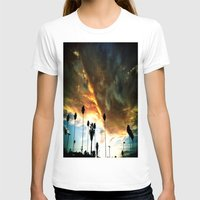 hollywood T-shirts featuring HollyWood Clouds!!! by Arturo Garcia