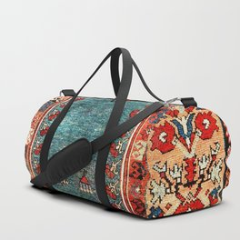 Kurdish East Anatolian Niche Rug Print Duffle Bag