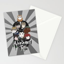 The Achievement Family  Stationery Cards
