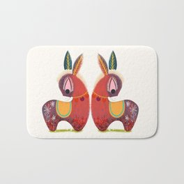 The Little Donkey without a Tail  Bath Mat