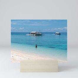 Kalanggaman Island, Leyte, Philippines Mini Art Print