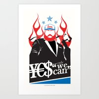 ¥€$ only WE CAN Art Print