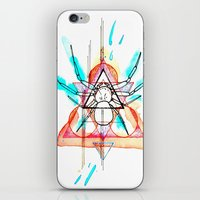 mother iPhone & iPod Skins featuring MOTHER by SLEEP MUSCLE