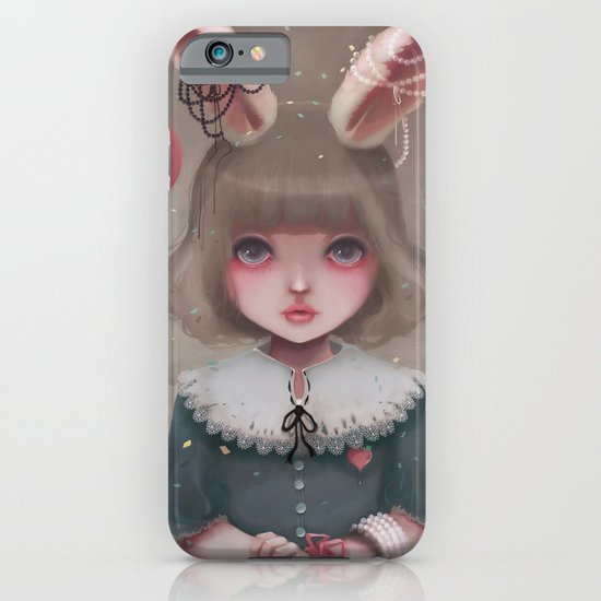 Juliette, balloons & pearls... iPhone & iPod Case